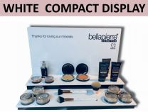 White Compact Display - Bellapierre