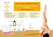 Jar starterkit + Gratis Advance 800 Wax Heater