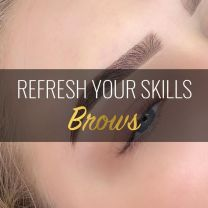 REFRESH YOUR SKILLS - VOLLEDIGE ADVANCED BROW TUTORIAL