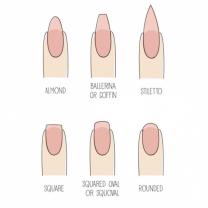 Shapes nails
