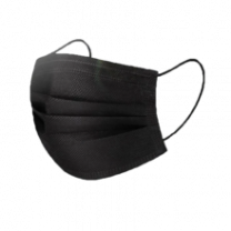 Face Mask 50pcs - Black